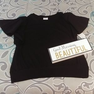 Abound Black Top NWT!